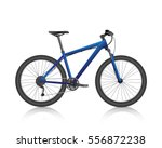 mountain bike  realistic vector | Shutterstock .eps vector #556872238