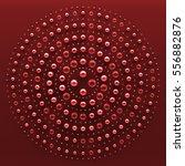 3d abstract render illustration.... | Shutterstock . vector #556882876