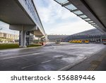 nice bus station sky bridge... | Shutterstock . vector #556889446