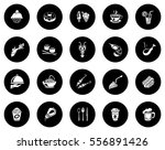 food icons   Shutterstock .eps vector #556891426