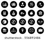 finance icons | Shutterstock .eps vector #556891486