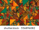 abstract seamless pattern with... | Shutterstock .eps vector #556896082