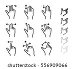 gesture icons for smartphones...