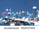 twilight blurred light office... | Shutterstock . vector #556917442