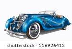 vintage car | Shutterstock .eps vector #556926412