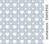 seamless heart pattern... | Shutterstock .eps vector #556929532