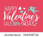 happy valentines day cards with ... | Shutterstock .eps vector #556948726