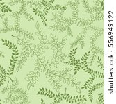 seamless pattern with branches... | Shutterstock .eps vector #556949122