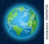 earth | Shutterstock .eps vector #556954702