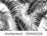 vector tropical seamless... | Shutterstock .eps vector #556960228
