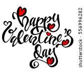 """happy valentine's day""... | Shutterstock .eps vector #556996282"