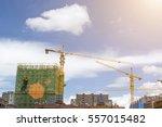 construction site | Shutterstock . vector #557015482