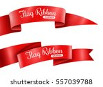 red ribbons horizontal banners...
