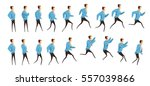 animation with frame sequence... | Shutterstock .eps vector #557039866