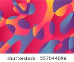 abstract watercolor palette of... | Shutterstock .eps vector #557044096