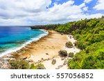 nuku'alofa  tonga. rugged...   Shutterstock . vector #557056852