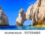 cabo san lucas  los arcos.... | Shutterstock . vector #557056885