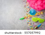 carnival or birthday party... | Shutterstock . vector #557057992