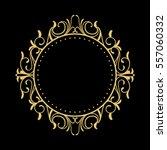 elegant circular classic... | Shutterstock .eps vector #557060332