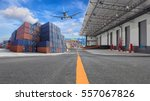 management logistics of... | Shutterstock . vector #557067826