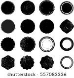 grunge post stamps collection ... | Shutterstock .eps vector #557083336