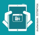 automotive online quote  ... | Shutterstock .eps vector #557087416