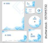 corporate branding identity... | Shutterstock .eps vector #557095732