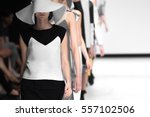 fashion show  catwalk event ... | Shutterstock . vector #557102506