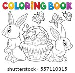 Coloring Book Easter Basket An...