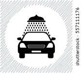 car wash vector icon   black ... | Shutterstock .eps vector #557111176