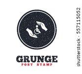 grunge post stamp. circle...   Shutterstock .eps vector #557115052
