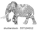 Indian Elephant In Style...