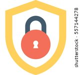 cyber security vector icon | Shutterstock .eps vector #557144278