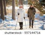 winter sport in finland  ... | Shutterstock . vector #557144716