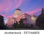 sacramento is the capital city... | Shutterstock . vector #557146855