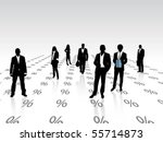 business concept | Shutterstock .eps vector #55714873