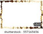 grunge frame texture. stock... | Shutterstock .eps vector #557165656