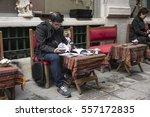 portrait of a turkish... | Shutterstock . vector #557172835