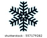 snowflake vector icon... | Shutterstock .eps vector #557179282