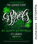 vector st patrick's day party... | Shutterstock .eps vector #557209996