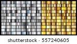 silver gold gradient background ... | Shutterstock .eps vector #557240605
