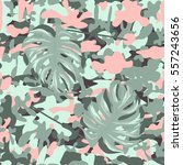 military print camouflage... | Shutterstock .eps vector #557243656