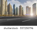 building in pudong  lujiazui ... | Shutterstock . vector #557250796