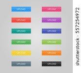 set of colored buttons. web... | Shutterstock .eps vector #557254972