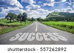 success road | Shutterstock . vector #557262892