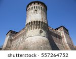 tower of medieval italian... | Shutterstock . vector #557264752