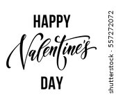 vector valentine day text... | Shutterstock .eps vector #557272072