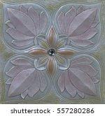 ceramic tile in an ornate...   Shutterstock . vector #557280286