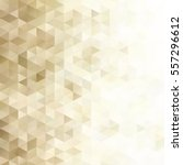 yellow grid mosaic background ... | Shutterstock .eps vector #557296612