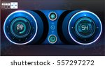futuristic user interface. hud... | Shutterstock .eps vector #557297272